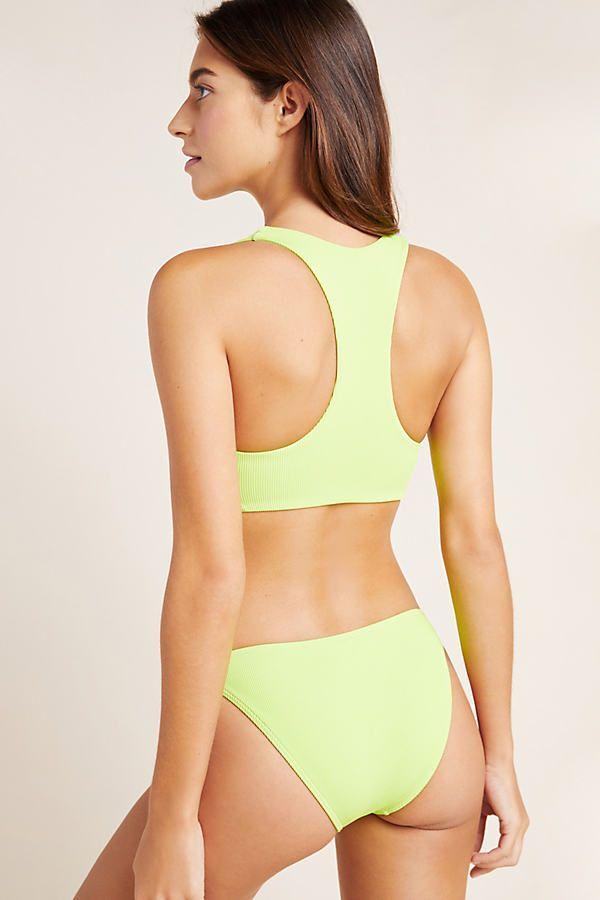 L Space Camacho Bikini Bottoms By Green Size Xs Traje De Bano
