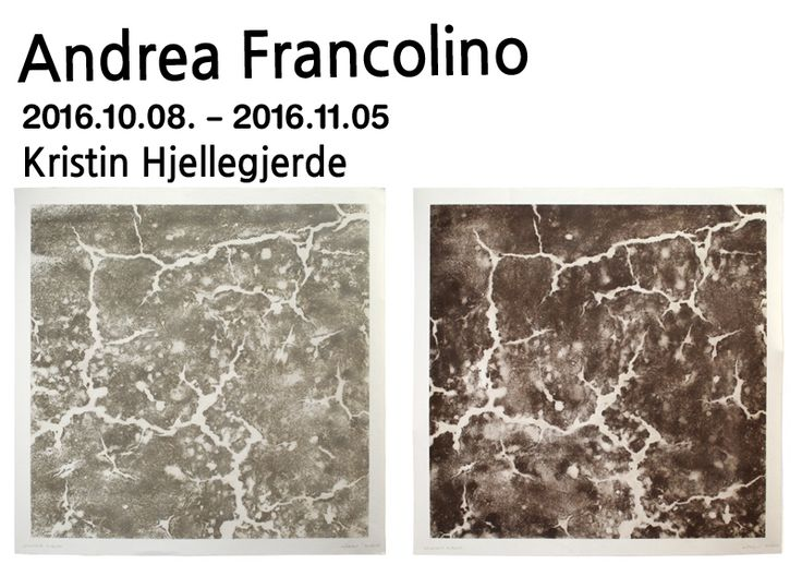 MQ, 2016 concrete and wood 110 x 110 cm 43 1/4 x 43 1/4 in  From / to ANDREA FRANCOLINO展 2016.10.08 - 2016.11.05  #관람시간  11:00am-06:00pm(Tue-Sat) KRISTIN HJELLEGJERDE GALLERY