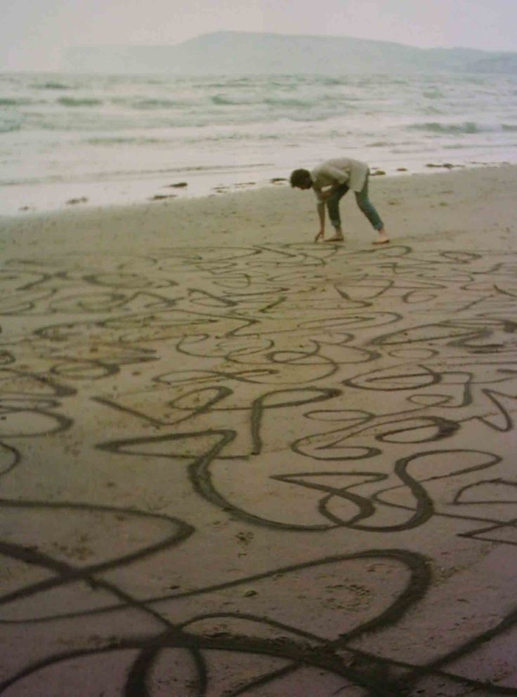 Andy Goldsworthy,  land art