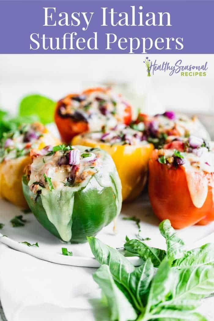 Vegetarian Stuffed Peppers Recipe In 2020 Stuffed Peppers Easy Vegetarian Stuffed Peppers Whole Food Recipes