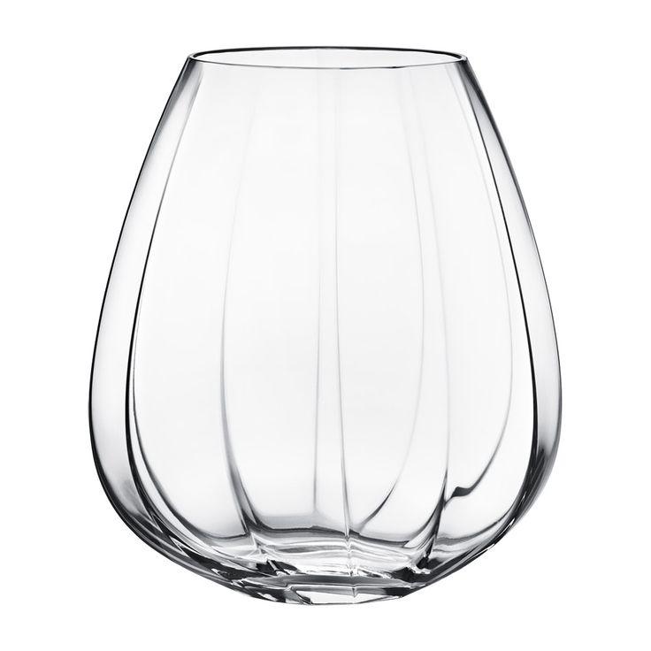 Facet Glassvase, Stor - Rikke Hagen - Georg Jensen - RoyalDesign.no