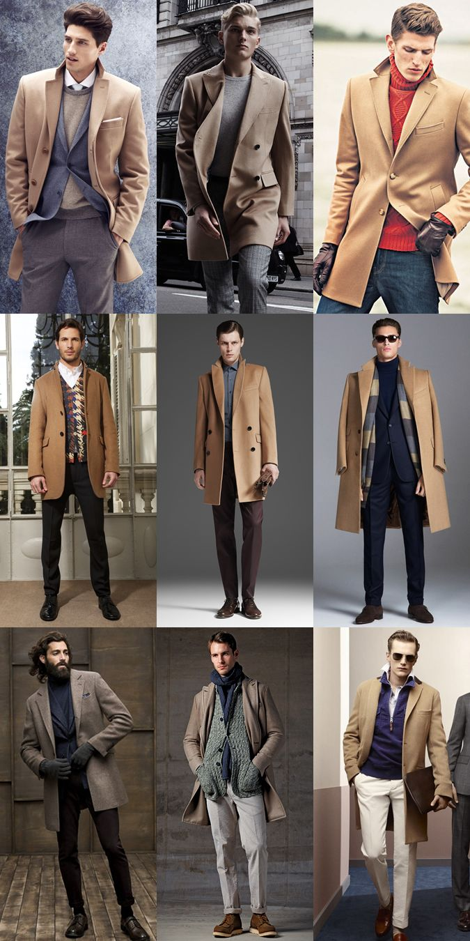 Mens overcoats styles