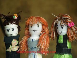 Rebellina Santy: Cara Membuat Boneka Dari Botol Bekas Susu