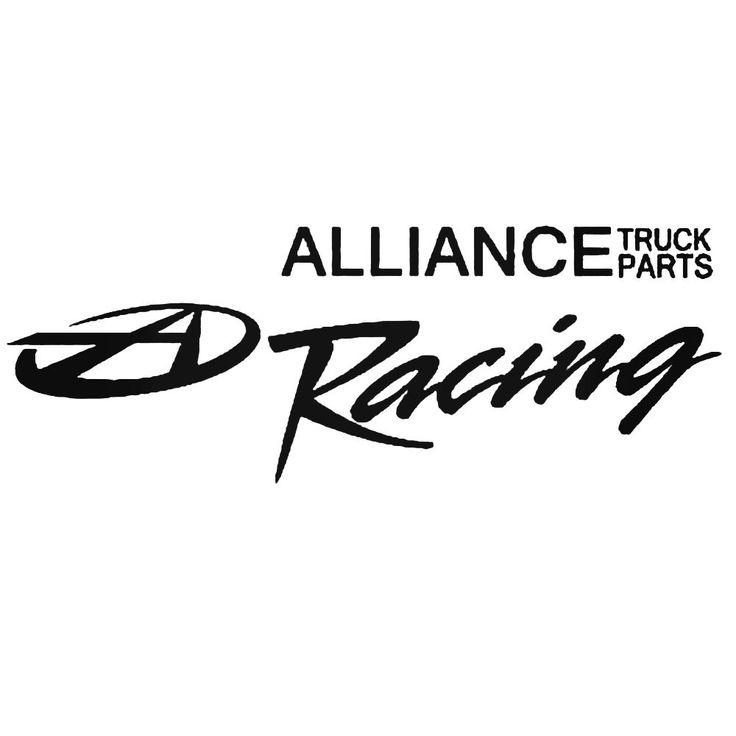 Alliance Truck Parts Racing B Decal Sticker  BallzBeatz . com