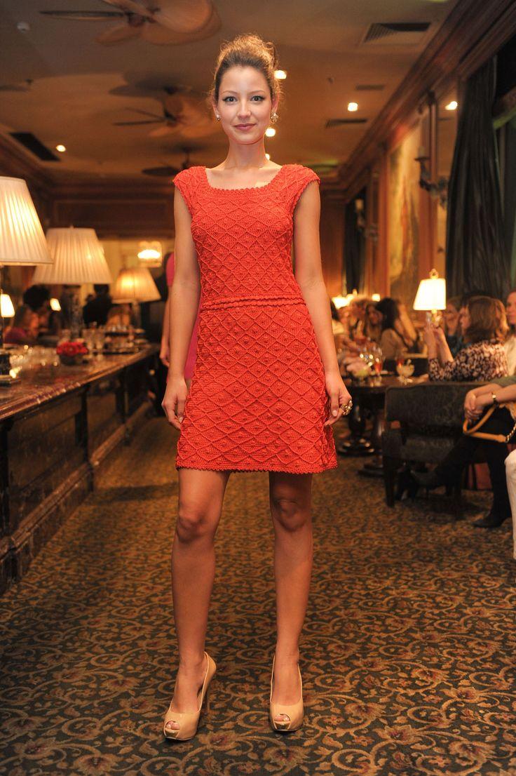 Desfile que apresentou a coleção de Verão 2014 da estilista Vanessa Montoro com calçados Carmen Steffens