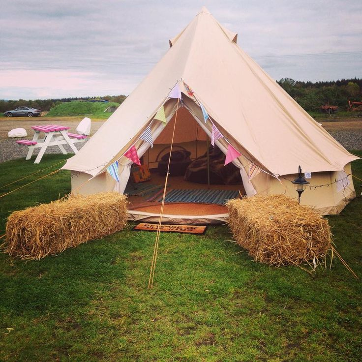 A tipi for the kids!