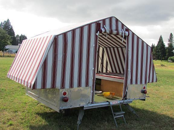 1963 Heilite Tent Trailer