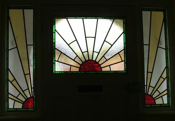 1930s sunburst design reminds me of Redstone Park