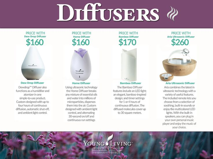 New Young Living Diffuser ~ Best misc young living essential oils graphics images