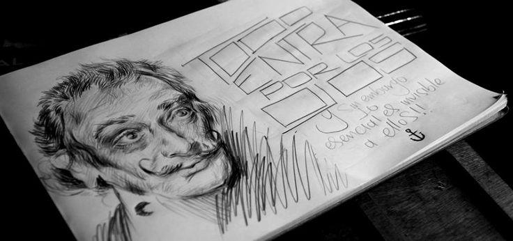 María José Artgumedo (Salvador Dalí) Frase de 'El Principito