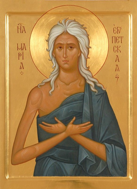 Icon of St Mary of Egypt