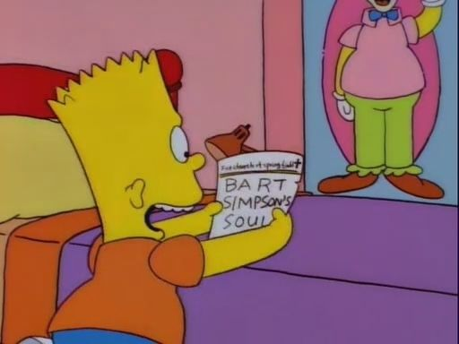 """""""Bart Sells His Soul"""" 