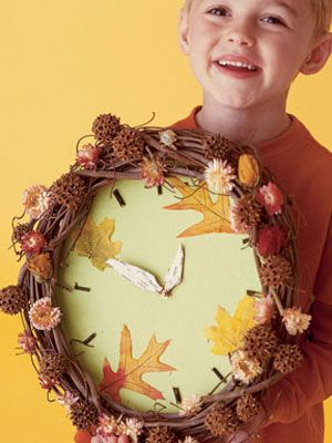 Never lose track of time with this clock that Mother Nature would approve of