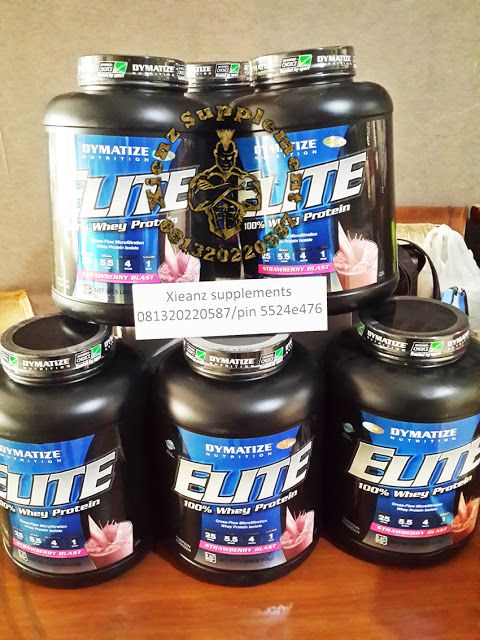 Xienz Supplement: Dymatize Elite Whey Protein Isolat XIENZ SUPLEMEN