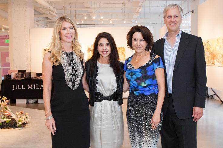Jill Fraser, Candace Cavanaugh, Susan Atherton, and Milan Lazich.
