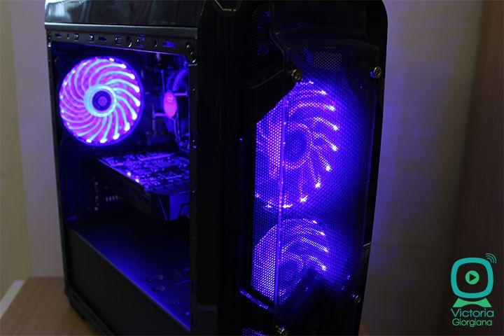 La luptă cu un Viking! PC Garage Viking