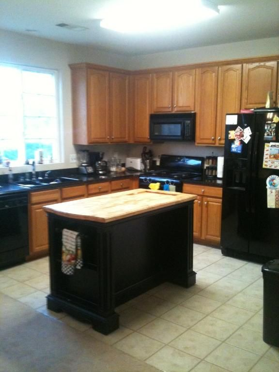 Country Black Movable #Kitchen Island Affordable Movable Kitchen Island  Price · Homemade ...