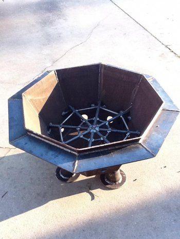 Octagon Fire Pit