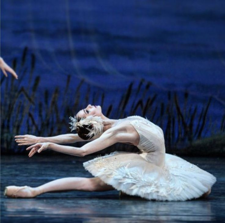 Oksana Skoryk in Swan Lake