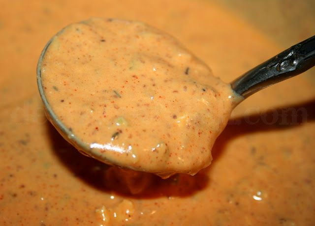 Remoulade Sauce...this is more of a New Orleans style remoulade rather than a true French remoulade