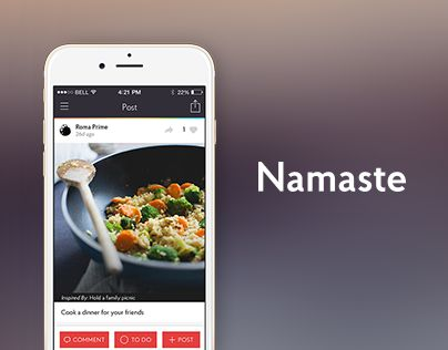 Namaste is an easy, fun and exciting way to share good deeds with the world. Take a picture of an act of kindness, write a short note and post to Namaste to inspire others. Connect with fellow human beings by spreading collective kindness, one random act a time.