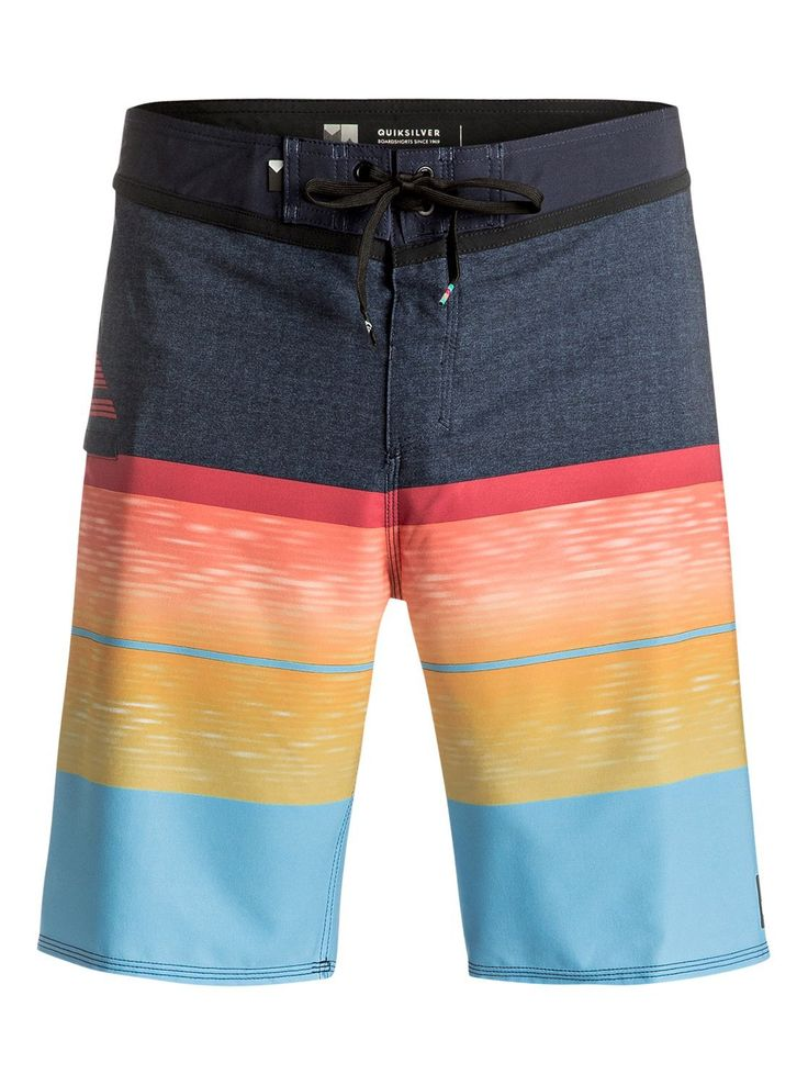 """Quiksilver Slab Logo Vee 20"""" Mens Boardshort 2017 - Skiis & Biikes  Check out our Summer Clearance Sale."""