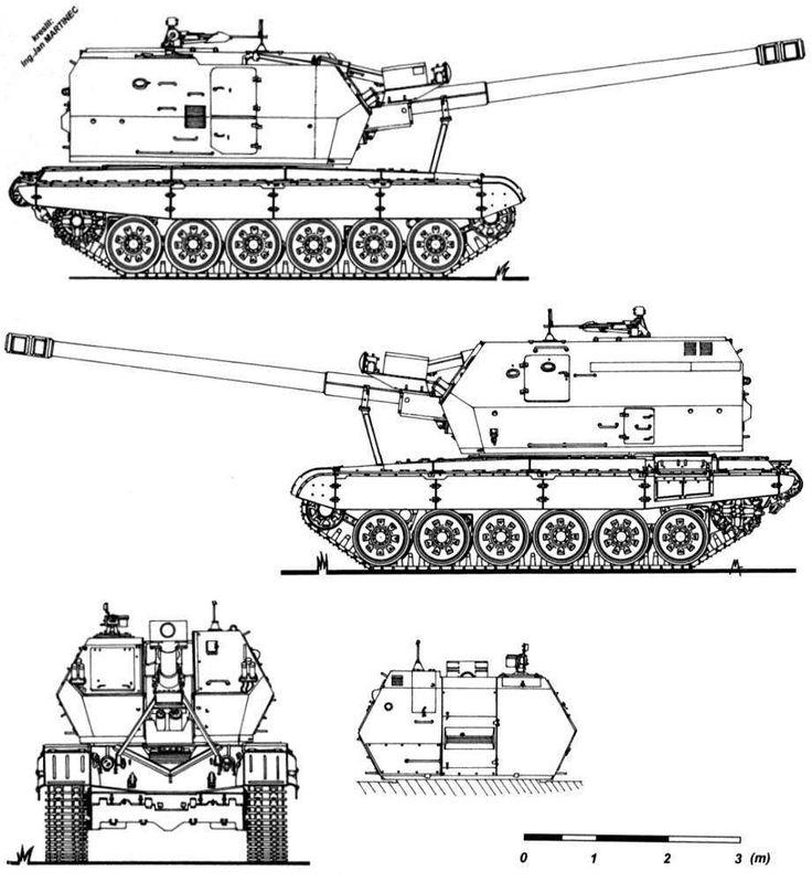 155mm zuzana  T-72