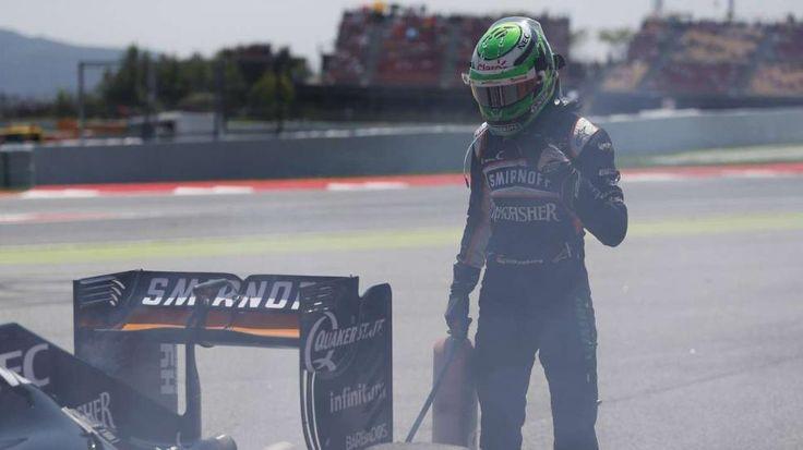 Großer Preis von Spanien   Silber-Schrott! Hamilton rammt Rosberg aus - Formel 1 - Bild.de