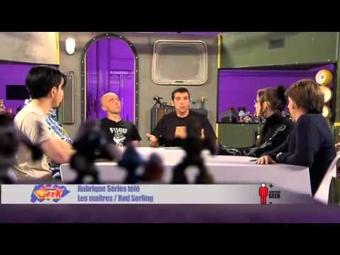 + ou - Geek N°1 : Les maîtres   1ère émission de +ou- geek avec :  Fred, le joueur du Grenier, parlant de Miyamoto.  Laurent parlant de Moebius.  Rurik parlant de John Carpenter.  Erel parlant de Mamoru Oshii  David parlant de Rod Sterling.  François parlant de Harry Knowles  et une interview de Mr Poulpe