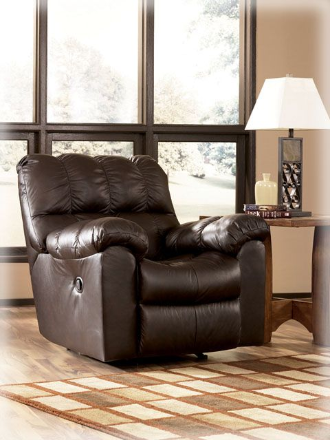 Marvelous Max   Chocolate Swivel Rocker Recliner · Relaxing Living RoomsLeather ...