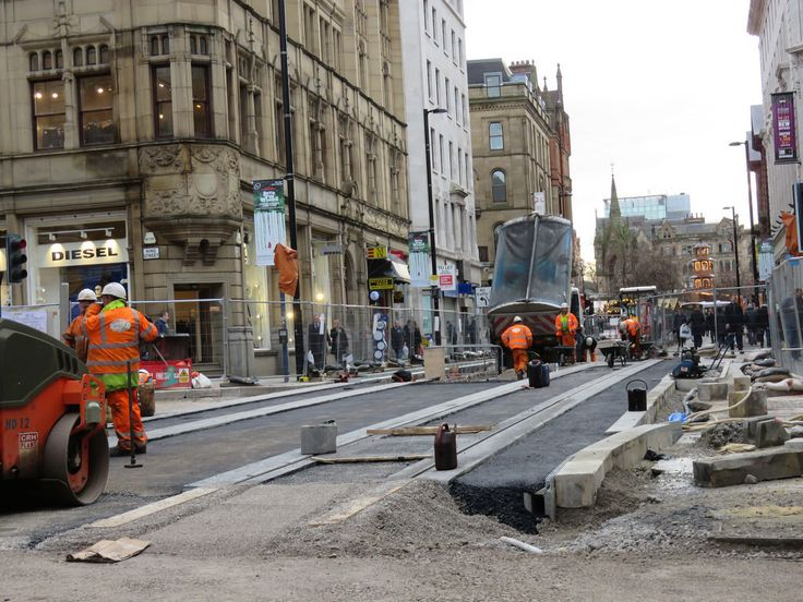 Manchester Metrolink track works