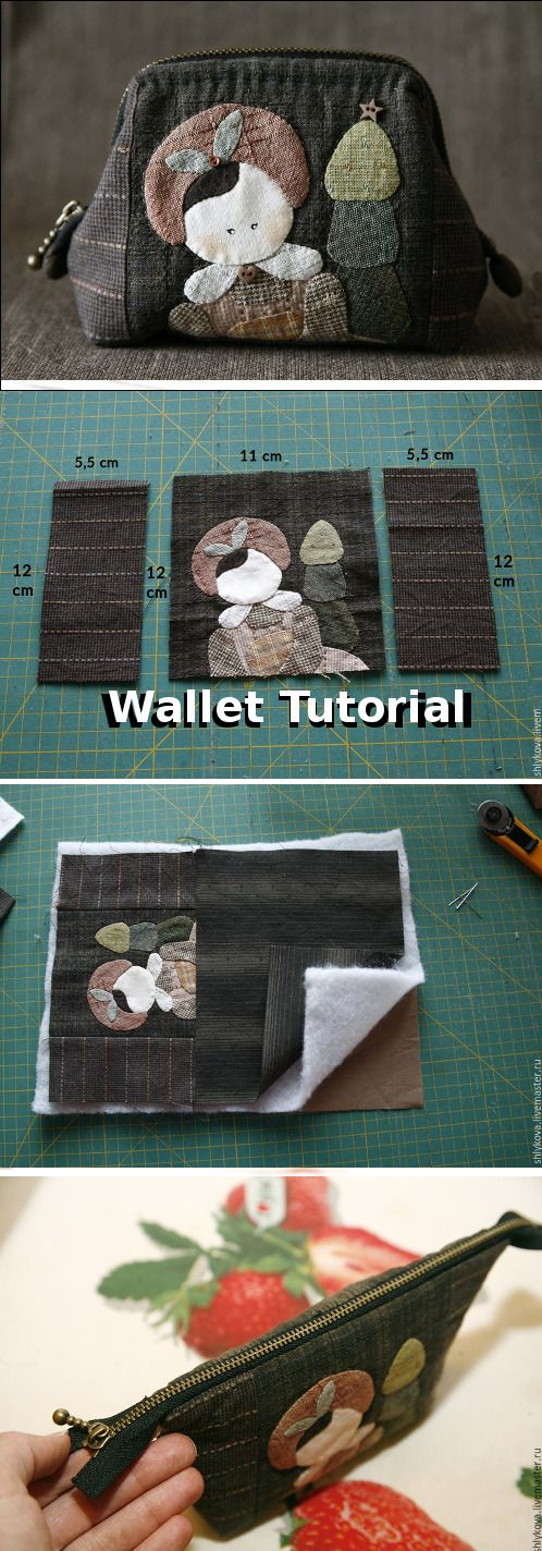 Easy step to step pretty DIY Wallet Tutorial! http://fastmade.blogspot.com/2016/05/how-to-make-valise-wallet-tutorial.html