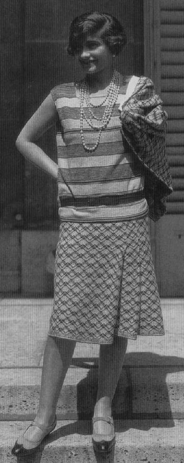 Coco Chanel creadora de los zapatos bicolor