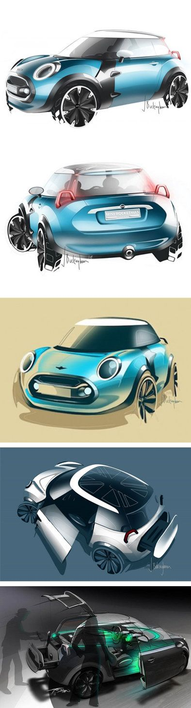 MINI ROCKETMAN Concept Car - idgrid [dot] org says: This is how you present your concept