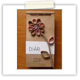 Cute hand-made notebook