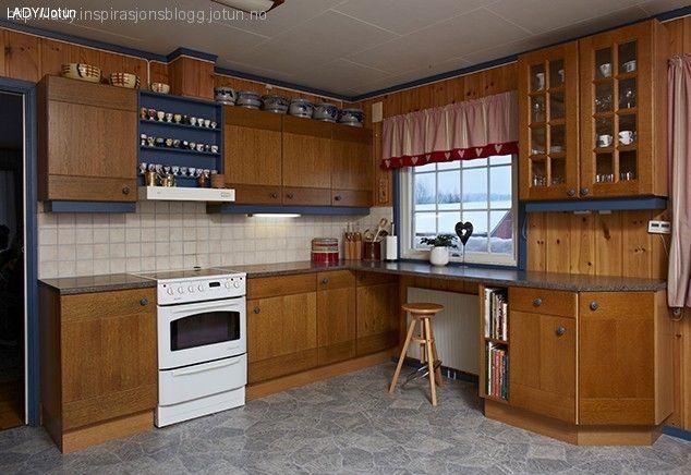 Male kjøkken førbilde