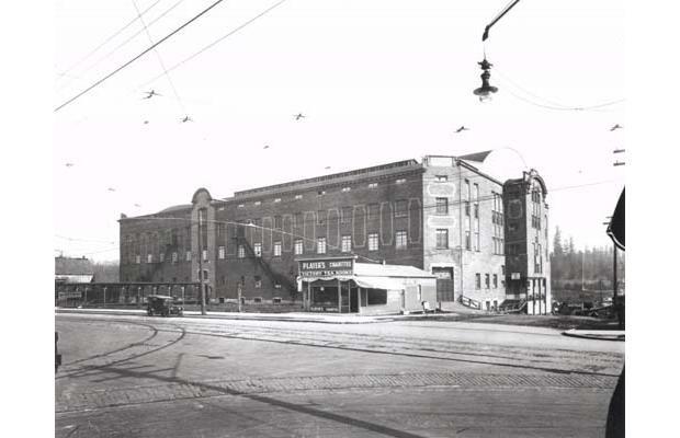 Denman arena 1913. (1805 West Georgia Street)