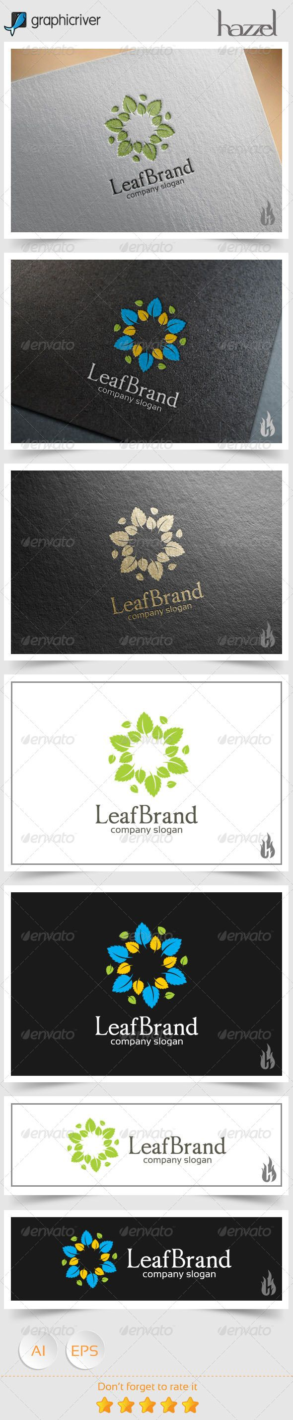 Leaf Brand Logo only $29, check this out