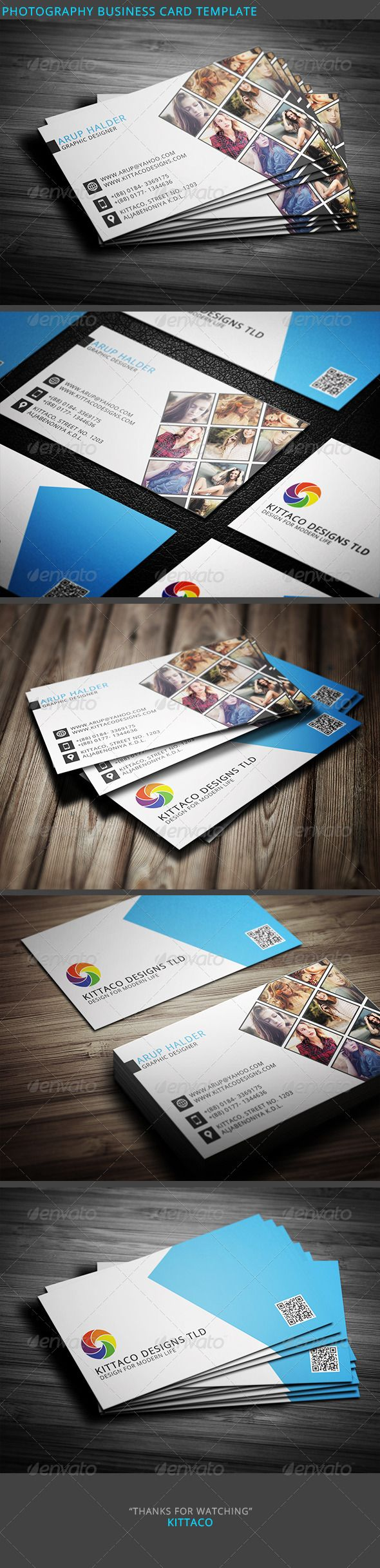 Photography Business Card Template #card #vcard Download: http://graphicriver.net/item/photography-business-card-template-2/8245218?ref=ksioks
