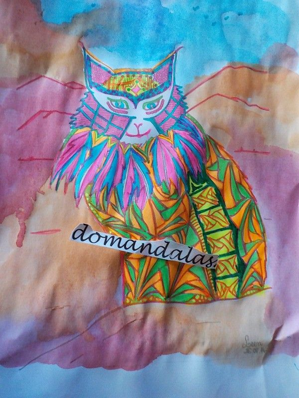 Creation by domandalas3, coloring page from the gallery Animals