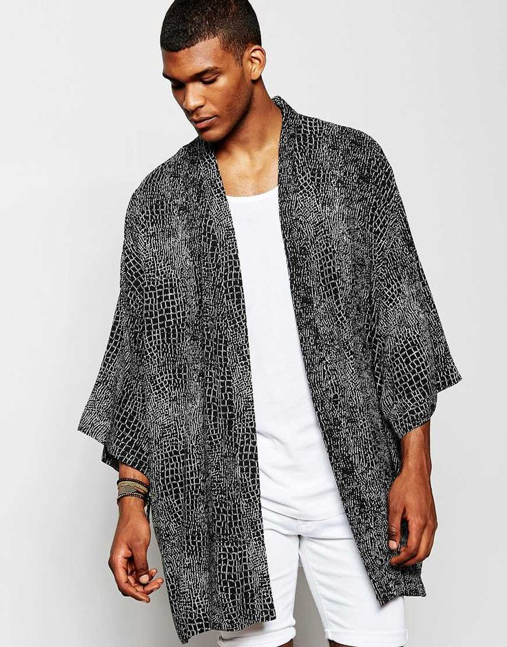 A lot of you guys have been asking about my kimonos over on my intsagram (@asos_jamesw). They're a great throw over item that goes great with your basic t-shirt and jeans. For a smarter look, wear with tailored black trousers and a crisp white shirt.