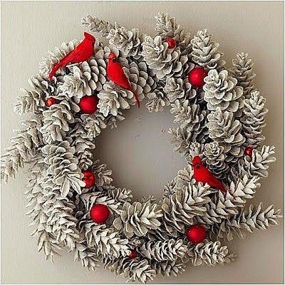 크리스마스 데코에 빠질수 없는 솔방울 diy 응용팁 : 네이버 블로그