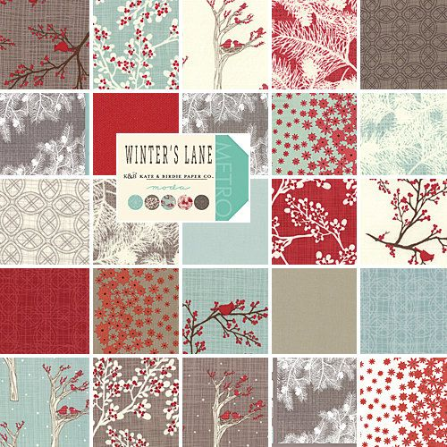 Moda Winters Lane Layer Cake 10 Quot Precut Cotton Fabric