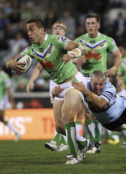 2013 Round 26 Canberra Raiders V Sharks: Paul Vaughan