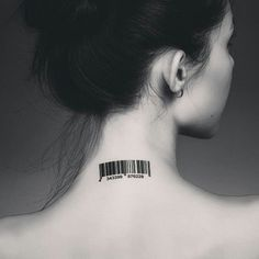 Tattoo-Journal.com - THE NEW WAY TO  DESIGN YOUR BODY   20 Graphic Barcode Tattoo Meanings – Placement Ideas   http://tattoo-journal.com