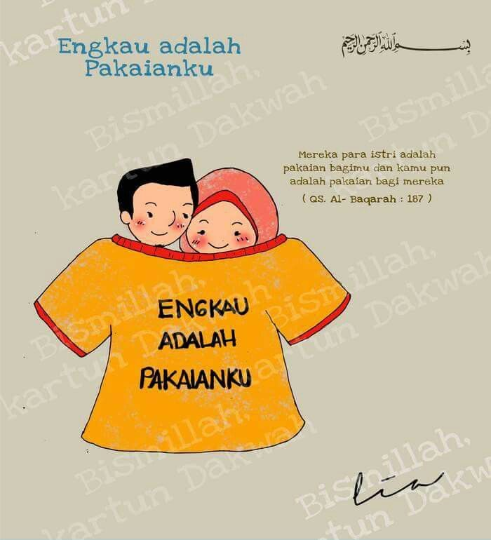 Engkau adalah pakaianku :)