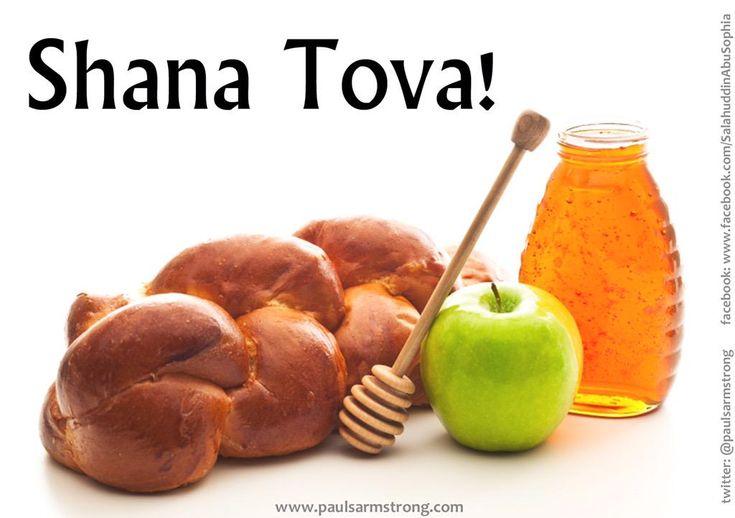"""Shaná Tová .Comienza el """"Año Nuevo Judío"""" y se inicia el año 5776, según el calendario hebreo. Paz y Justicia!"""