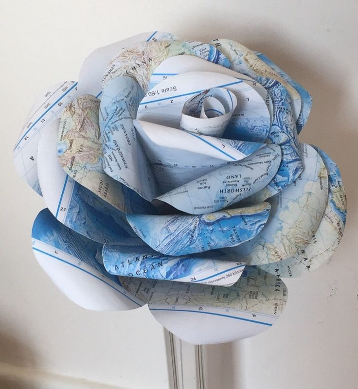 A personal favourite from my Etsy shop https://www.etsy.com/uk/listing/273538466/giant-atlas-paper-rose-giant-paper