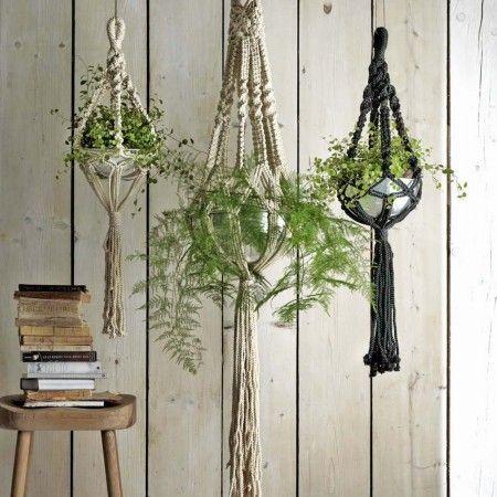 Macrame Plant Hangers - Vases & Plant Pots - Home Decoration - Home Accessories