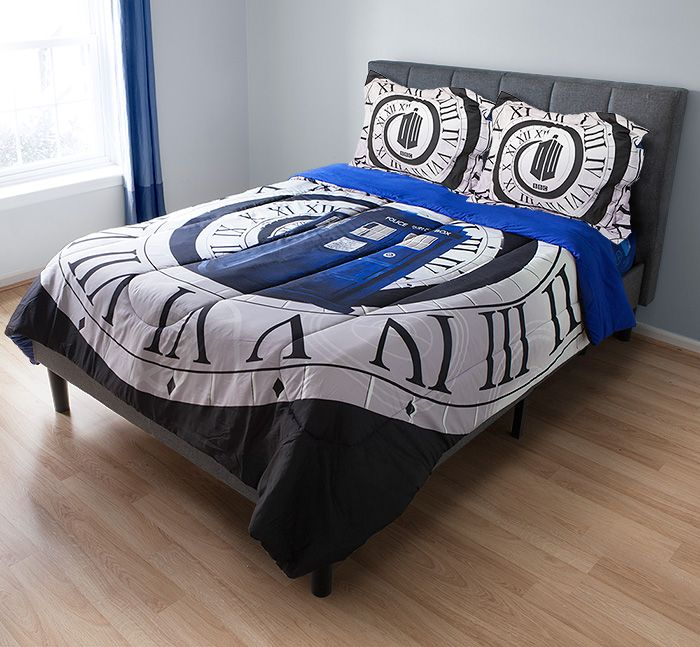 Sleep like a Time Lord with 'Doctor Who' bedding - CNET